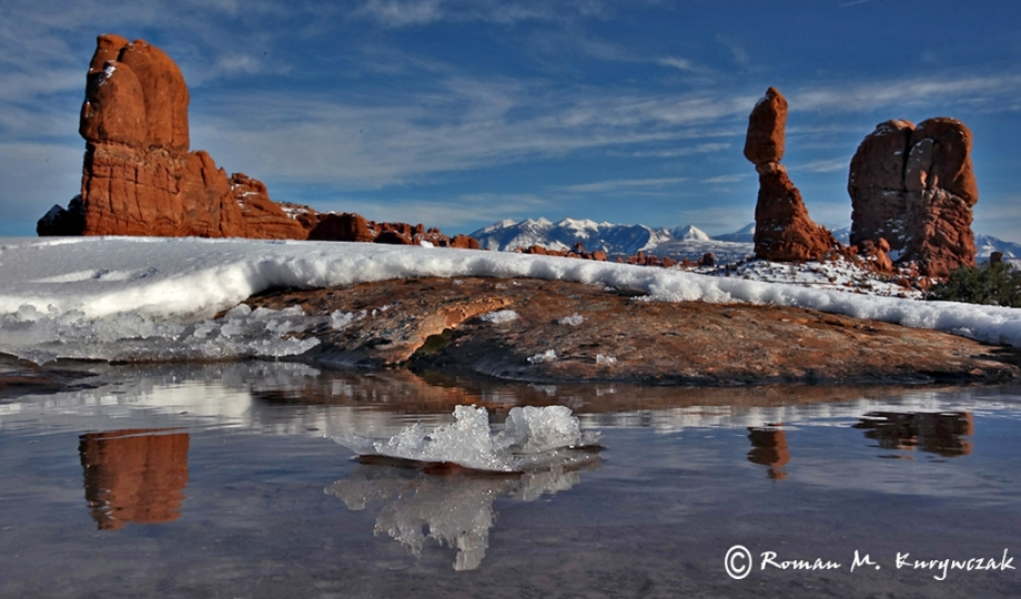 Reflections of Balanced Rock